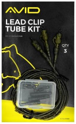 Avid carp montáž na olova outline lead clip tube kit