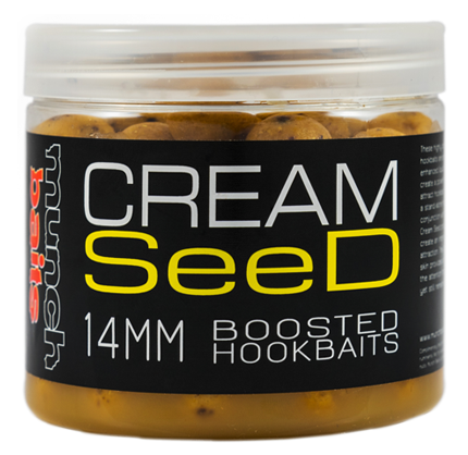 Munch baits boosterované boilie cream seed 200 ml-18 mm