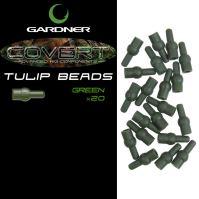 Gardner Zarážky Covert Tulip Beads-Hnedé