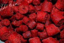 LK Baits Pelety ReStart Wild Strawberry - 1 kg 12-17 mm