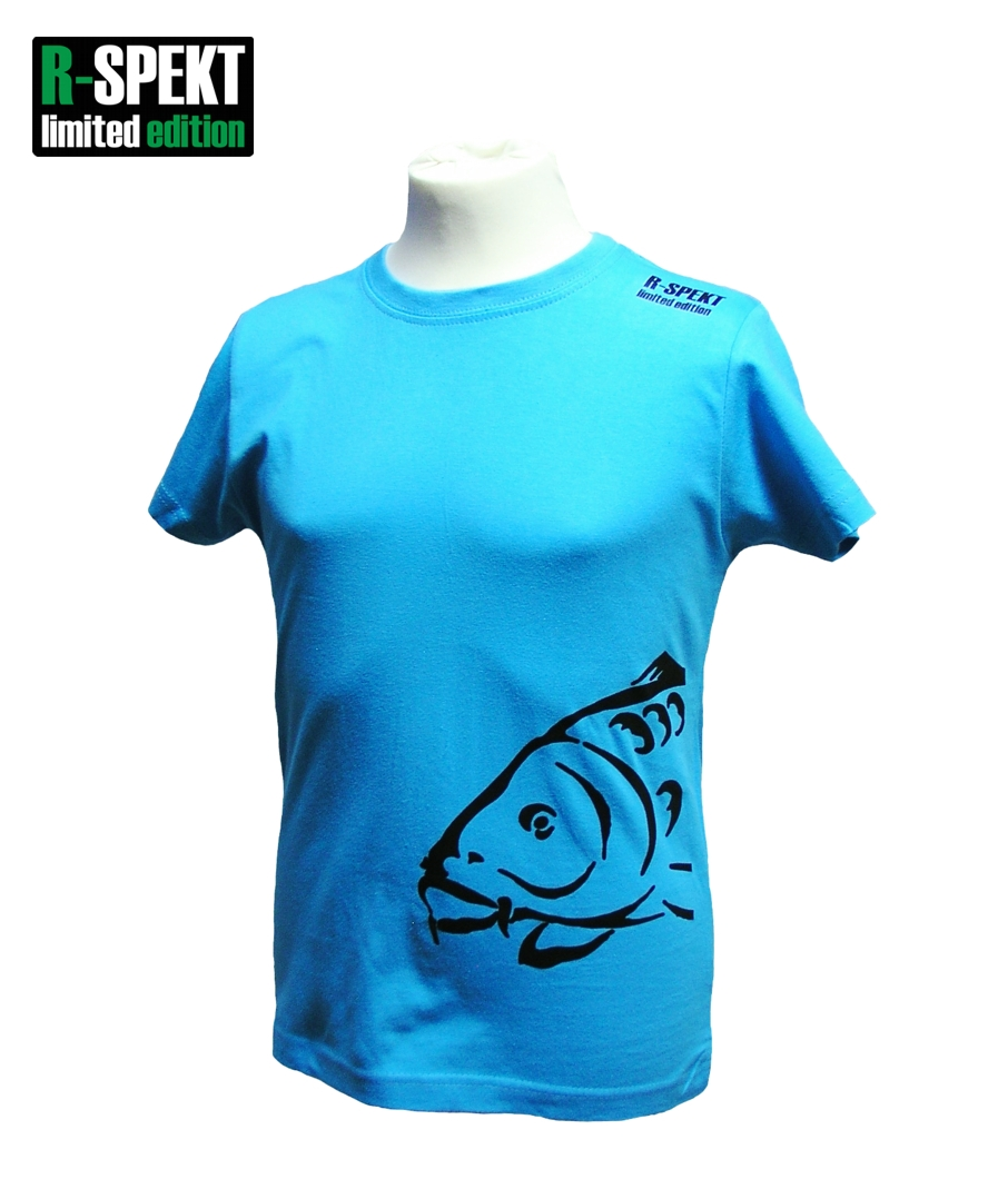 R-spekt detské tričko carper kids tyrkysové-veľkosť 11/12 yrs