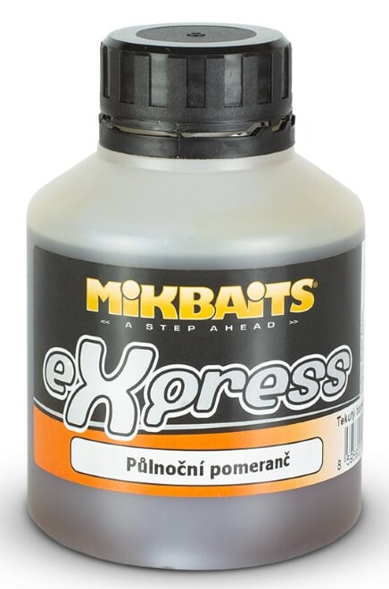 Mikbaits booster express polnočný pomaranč 250 ml