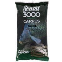 Sensas Kŕmenie Carpes 3000 1 kg-Kapor Čierny
