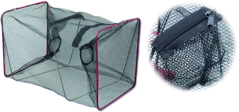 Zebco sieť na ástražné rybičky štvorcová 4x4 mm