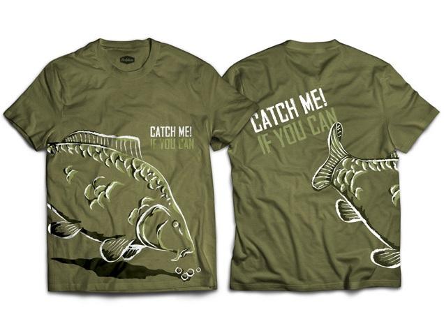 Delphin tričko catch me kapor-veľkosť m