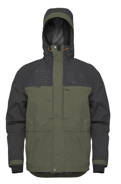 Geoff anderson bunda barbarus zeleno čierna - veľkosť s