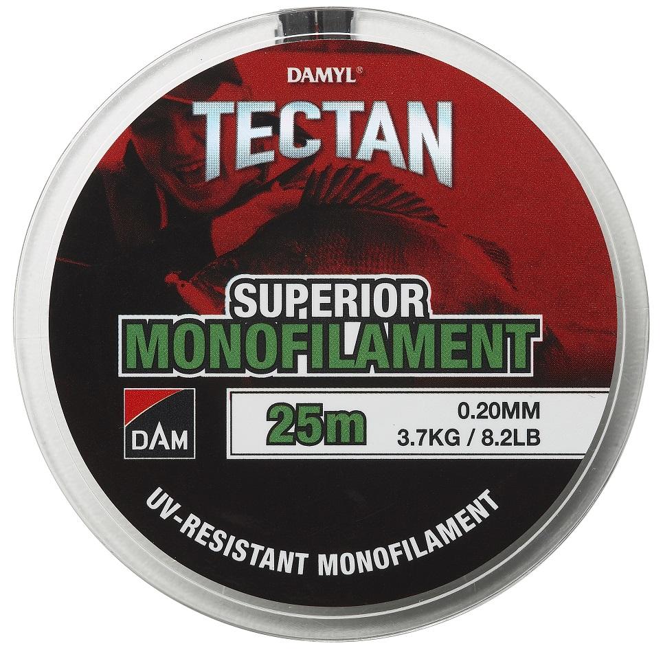 Dam vlasec damyl tectan superior monofilament 25 m - 0,16 mm 2,5 kg