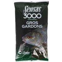 Sensas Krmítková Zmes 3000 Gros Gardons 1 kg - plotica čierna