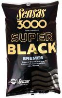 Sensas kŕmenie 3000 SUPER BLACK 1kg-Bremes
