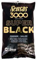 Sensas krmítková zmes 3000 Dark Salty (Čierne - slané) 1 kg-Feeder