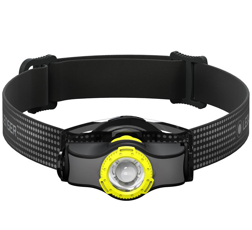 Ledlenser čelovka mh3 čierno-žltá