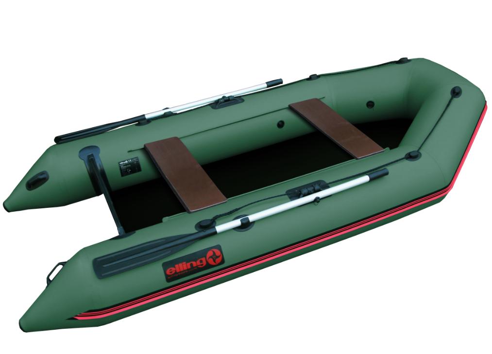 Elling čln forsag s pevnou skladacou podlahou zelený 310