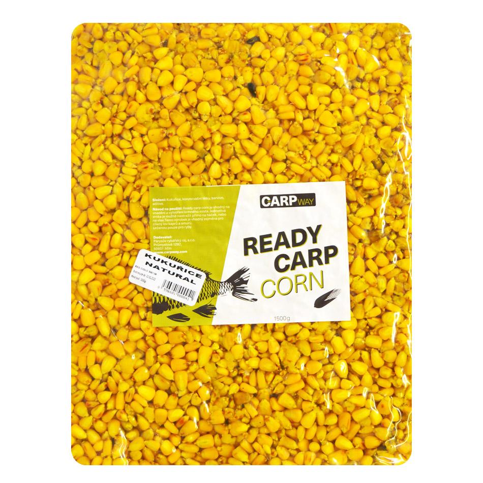 Carpway kukurica ready carp corn 3 kg - natural