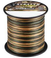 Spiderwire Splietané šnúra Stealth camo-Priemer 0,35mm / Nosnosť 51,2kg / Návin 1 m