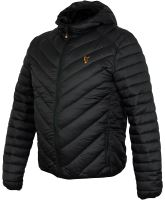 Fox Bunda Collection Quilted Jacket Black Orange-Veľkosť XXL