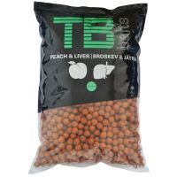 TB Baits Boilie Peach Liver -10 kg 20 mm