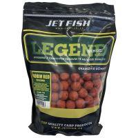 Jet Fish Boilie LEGEND Robin red + A.C. brusinka - 1 kg 24 mm