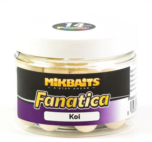 Mikbaits plovouci boilies fanatica koi 150 ml 14 mm