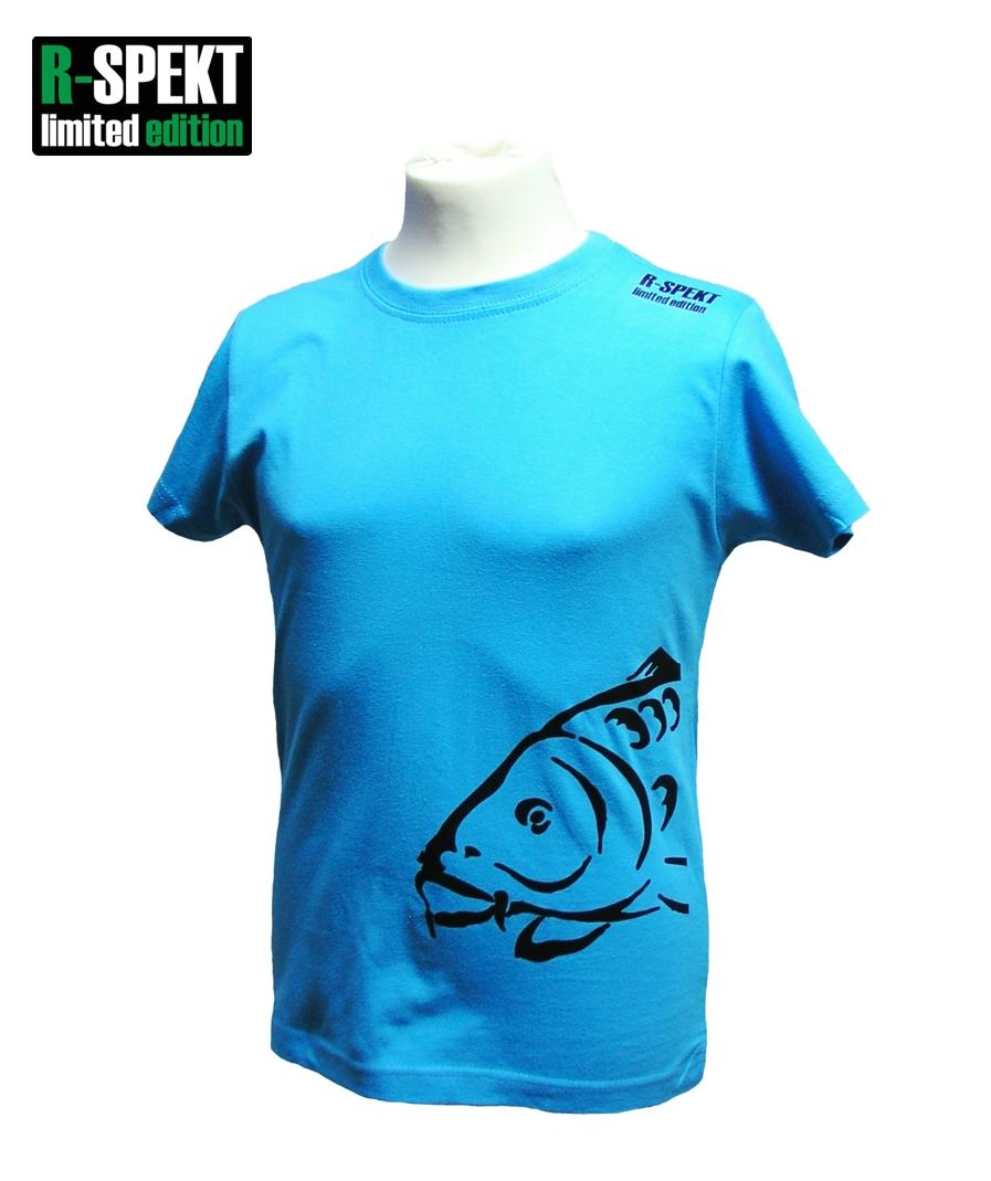 R-spekt detské tričko carper kids tyrkysové-veľkosť 9/10 yrs