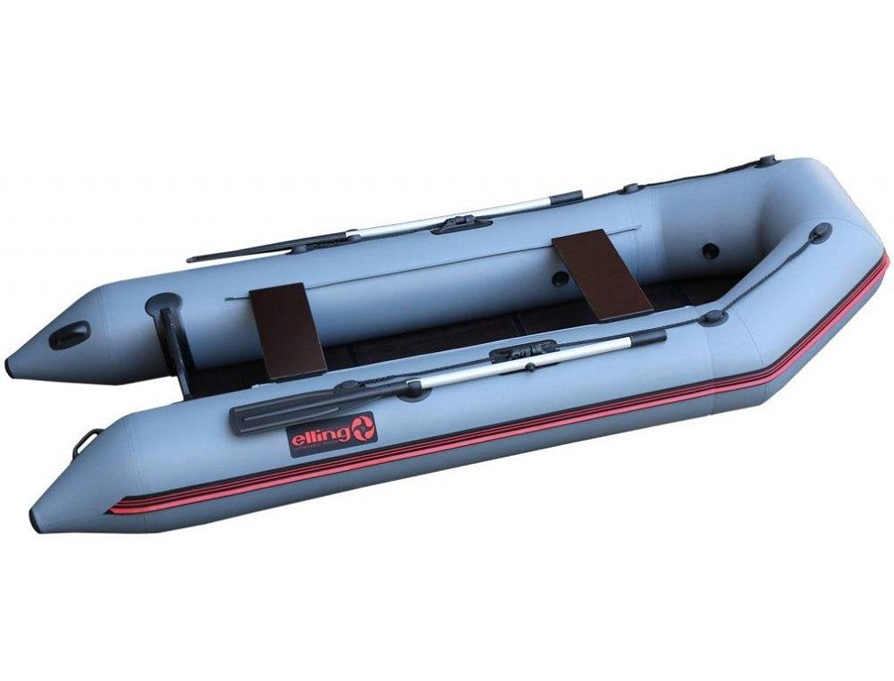 Elling čln patriot s pevnou skladacou podlahou šedý 270