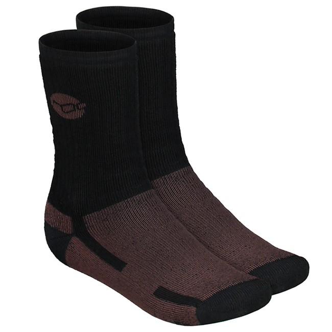 Korda ponožky kore merino wool sock black-veľkosť 44 - 46