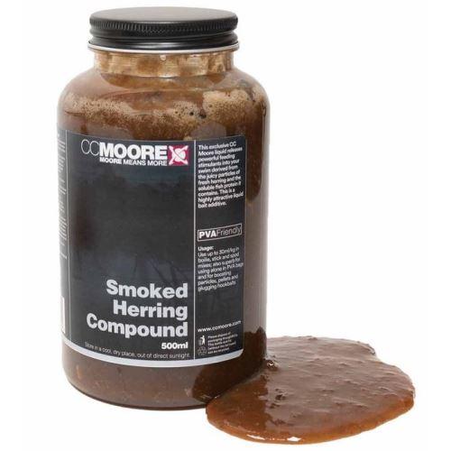 CC Moore Tekutá Potrava Liquid Smoked Herring 500 ml