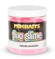 Mikbaits Obaľovací Dip Fluo Slime 100 g-jahoda exclusive