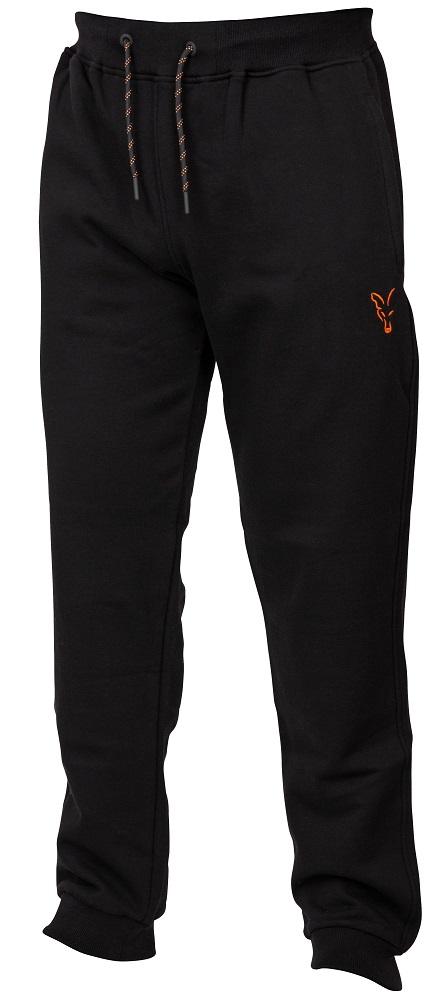 Fox tepláky collection black orange joggers-veľkosť xxxl