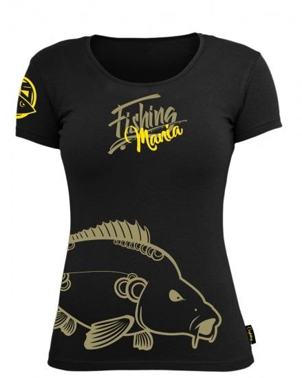 Hotspot design tričko carpfishing mania dámske-veľkosť l