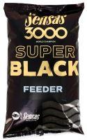 Sensas kŕmenie 3000 SUPER BLACK 1kg-Feeder