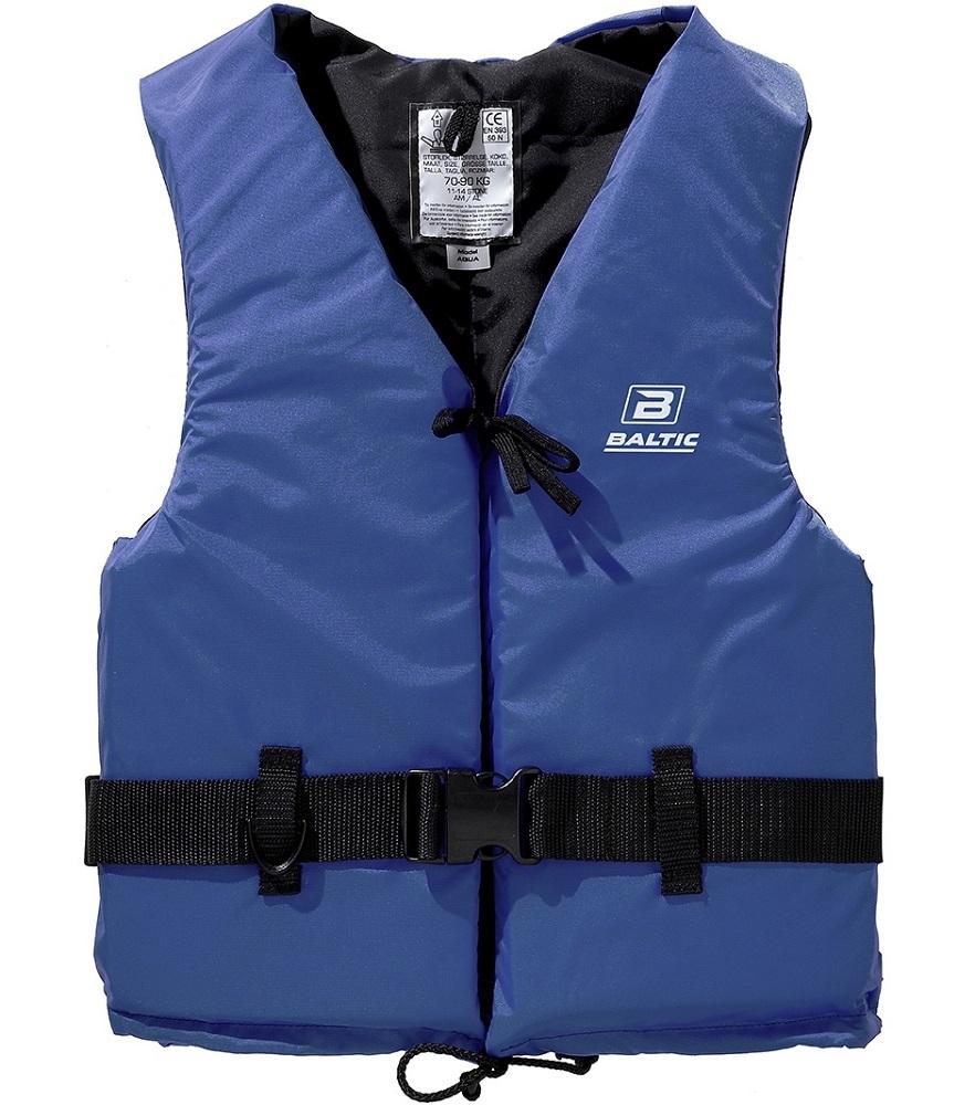 Baltic vesta plávacia aqua 50n svetlo modrá-veľkosť m 50-70 kg