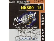 Colmic  háčik Nuclear NK800 20ks - Veľkosť 16