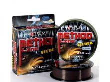 Colmic Vlasec Method Feeder Brown 250 m-Priemer 0,14 mm / Nosnosť 2,5 kg