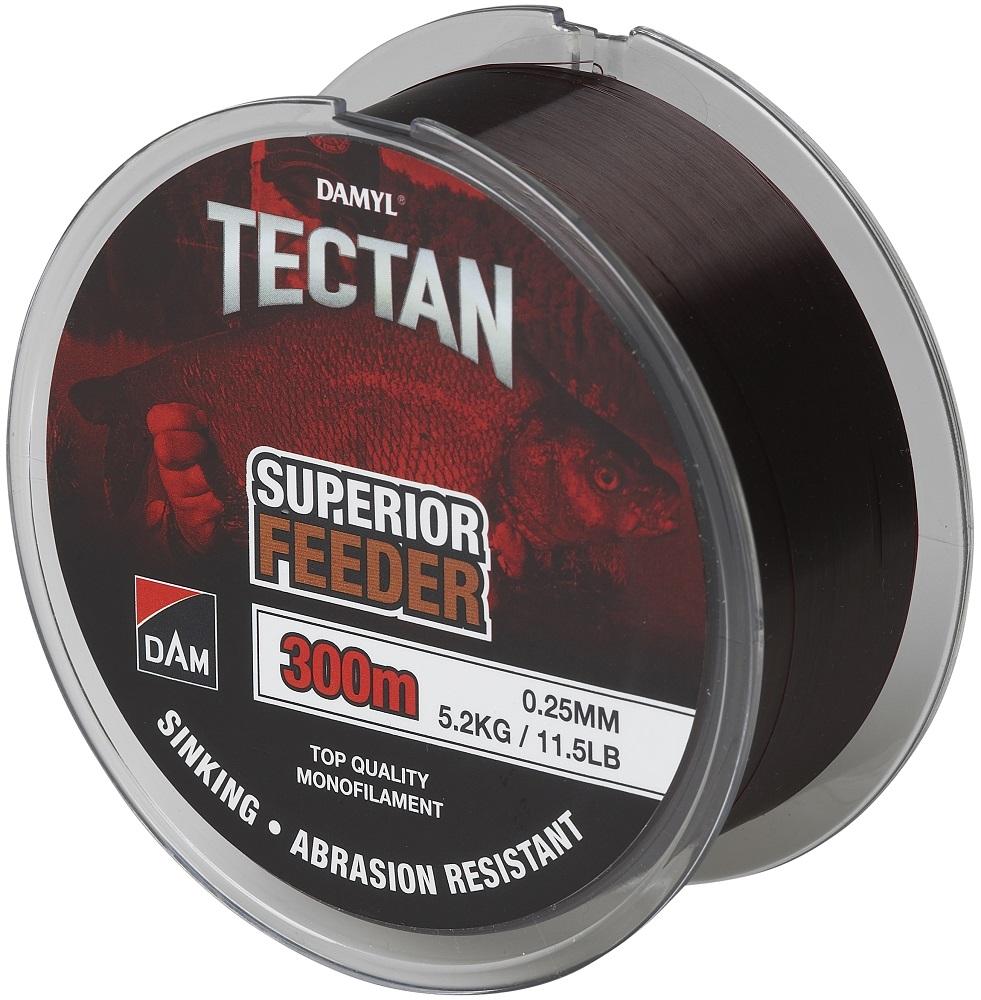 Dam vlasec damyl tectan feeder 300 m - 0,25 mm 5,2 kg