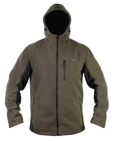 Avid carp mikina windproof fleece - veľkosť xl