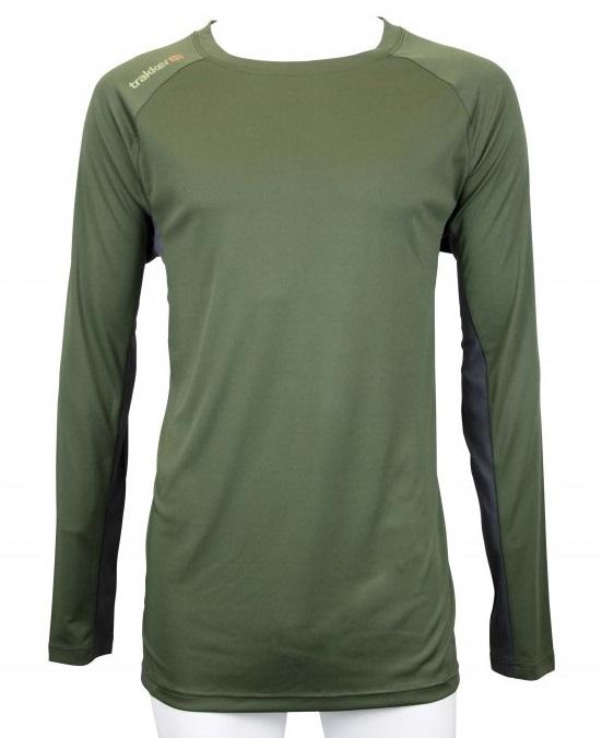 Trakker tričko s dlhým rukávom moisture wicking long sleeve top - veľkosť l