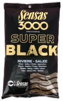 Sensas krmítková zmes 3000 Dark Salty (Čierne - slané) 1 kg-Riviere