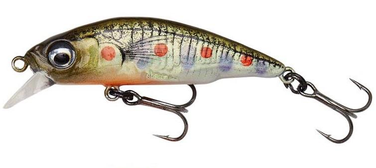 Savage gear 3d sticklebait twitch sinking brown trout smolt - 4,5 cm 4 g