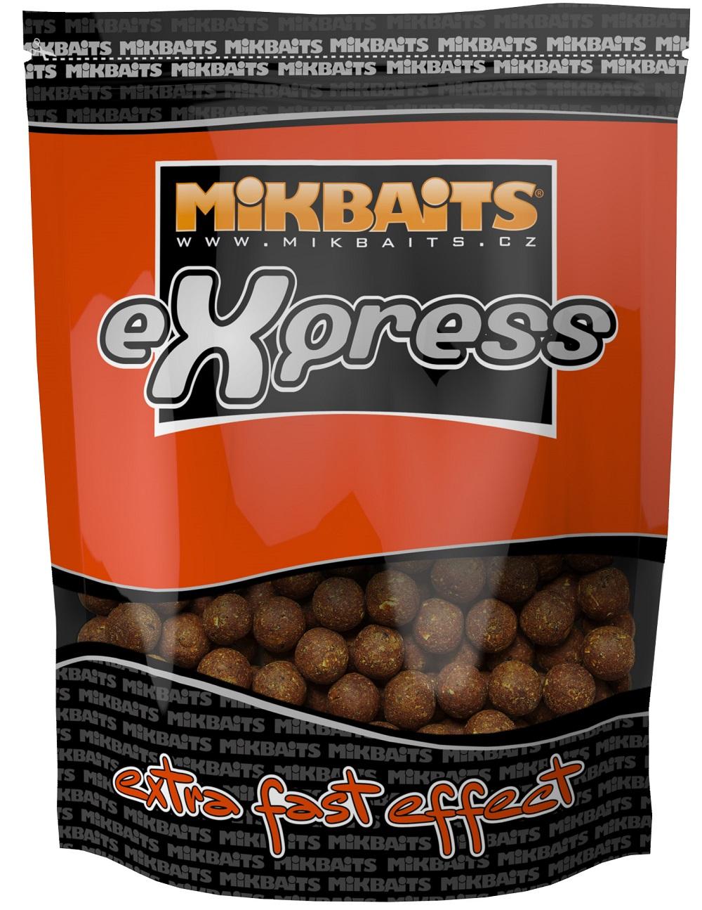 Mikbaits boilies express original 1 kg 18 mm-patentka