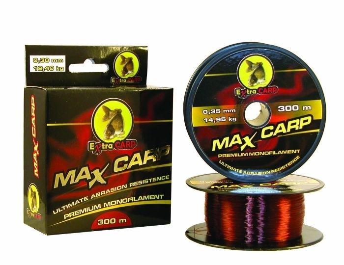 Extra carp vlasec max carp hnedá 300 m-priemer 0,35 mm / nosnosť 14,95 kg