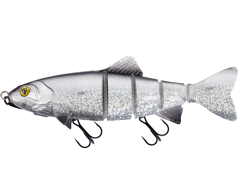 Fox rage gumová nástraha replicant realistic trout jointed shallow uv silver bleak - 18 cm 77 g