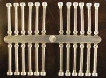 Extra Carp silicone boilie holder číra-30mm