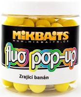 Mikbaits Plávajúce Boiles Fluoro 250 ml 14 mm-Zrejúci Banán