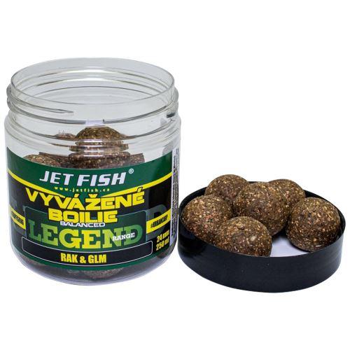 Jet Fish Vyvážené Boilie Legend Range Rak GLM 250 ml