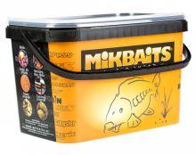 Mikbaits Boilie Robin Fish Brusinka Oliheň - Veľkosť 16 mm / Hmotnosť 2,5 kg