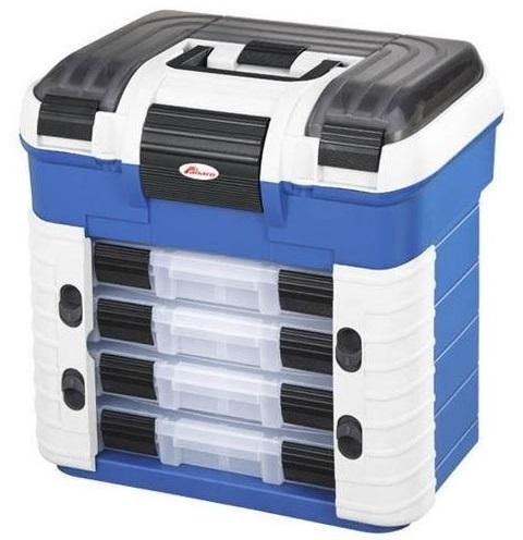 Plastica panaro rybársky kufor superbox 502 šedo-modrý
