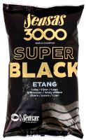 Sensas kŕmenie 3000 SUPER BLACK 1kg-Etang