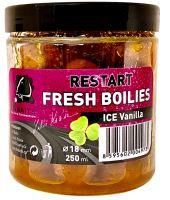 LK Baits Boilie Fresh Restart Ice Vanilla - 18 mm 250 ml