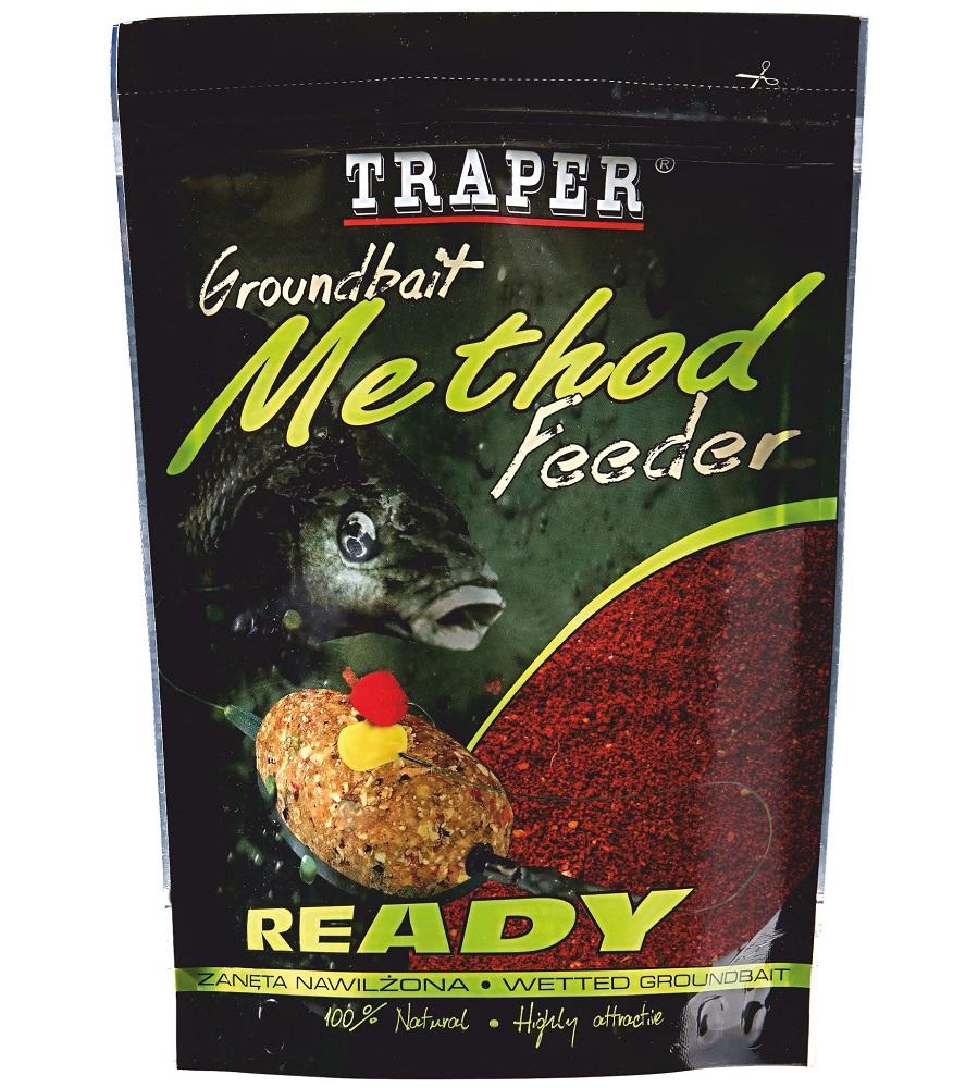 Traper krmítková zmes groundbait method feeder ready kryl - 750 g