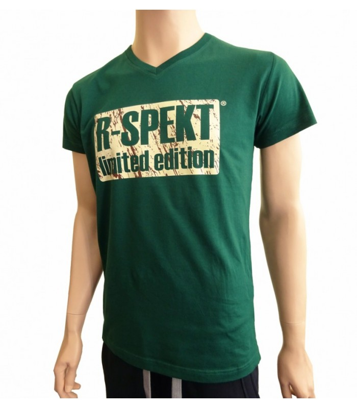 R-spekt tričko limited edition green - m
